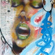 Daze 2001    Agenda Painting  20  100 X 125 Cm   Copie