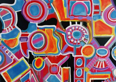 Jonone  1 100th Of A Second  2002, 300 X 300 Cm   Copie