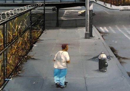 Daze  Brooke Avenue 149 St , 100 X 80 Cm, 2001   Copie