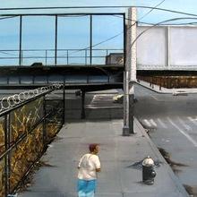 Daze  Brooke Avenue 149 St , 100 X 80 Cm, 2001   Copie 2