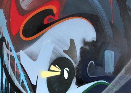 """Pollo Negro"" 180 X 170 Cm    Copie 2"