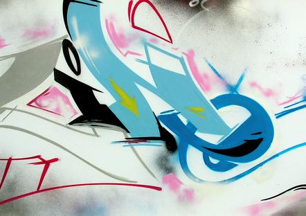 "Serval ""Tracing"", 100 X 200 Cm, 2010   Copie"