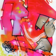 Rosy One, Red Galaxie, 150 X 200 Cm   Copie