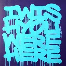 Wish 70x70cm, Acrylics On Canvas, 2013