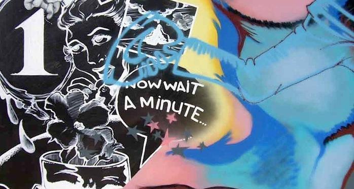 """Daze 1989 """"Wait A Minute""""                           Speerstra Gallery"""