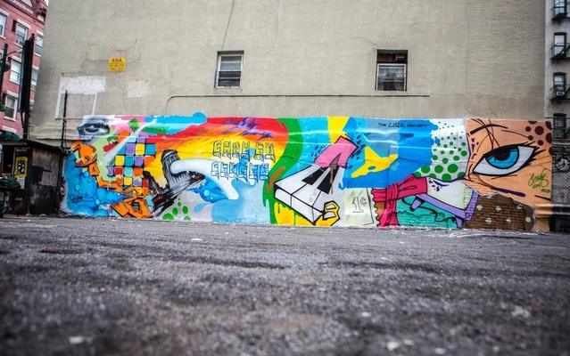 Crash X Daze pour L.I.S.A Project - New York