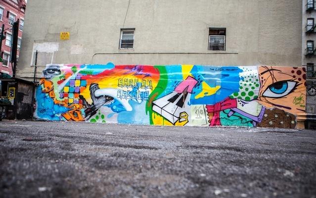 Crash X Daze pour L.I.S.A Project - New York