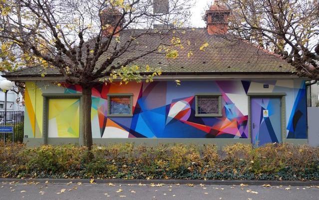 Raphaël Borer und Lukas Oberer @ Artyou - Urban Art Basel