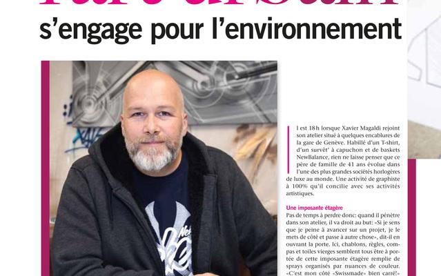 "Xavier Magaldi ""Esprit Upcycling"" @ Salon Habitat-Jardin / Lausanne / Switzerland, 12 - 20 mars 2016"