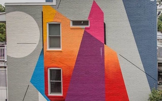 Remi Rough Mural @ dcmuralproject in Washington DC