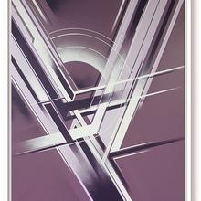 6.Xavier Magaldi ,Y ,Aerosol Acrylique , 80x100 Cm, 2016