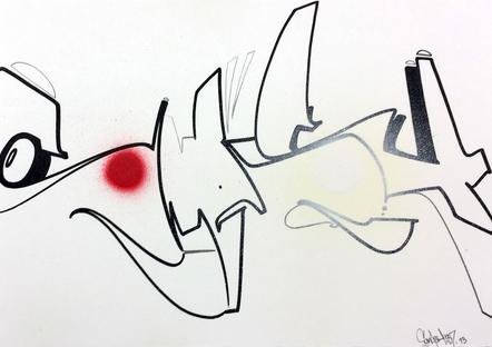 Smash 137   Sketch N°3 21 X 30 Cm 2013   Copie