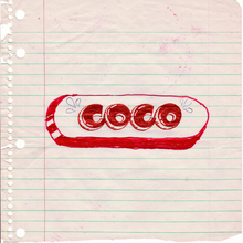 "3. Coco 144 ""Prototype In Red"" 20x20cm 1974   Copie"