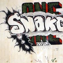 """14. Snake I """"Snake I"""" 20x26cm 1975   Copie"""