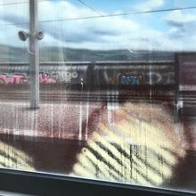 14h22, Yverdon Les Bains, 100x73cm, Acrylique Sur Toile Et Plexiglas, 2018 (Copier)
