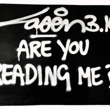 2. Laser314 Are You Reading Me  40x60 Speerstra2019
