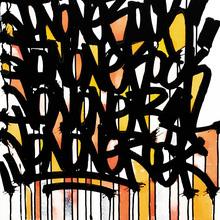 5. Jon One Rene Richard Acrylique & Encre Sur Toile : 64 X 54 Cm : 2007 Copie