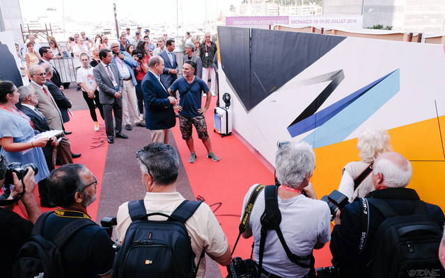 Monaco - 3rd edition of Urban Painting Around the World (UPAW) - 25, 26, 27 June 2019