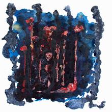 9. Ar, Hezi & Justin 110x110cm, Mixed Media On Canvas, 2019