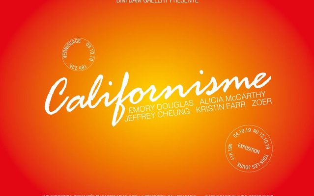 """Californisme"" en partenariat avec la Speerstra Gallery Paris"