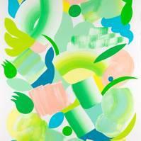 20_bloom_vert_70x50cm_acrylique_sur_papier_2020%20copie