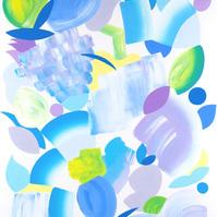 18_bloom_violette_70x50cm_acrylique_sur_papier_2020%20copie