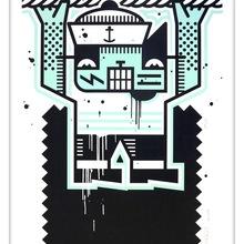 2. Blancbec      2014,  Albert Au Dessus Du Canal,  Serigraphie N° 1 Sur 30                         70 X 50 Cm Copie 2