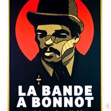 2. Sozyone,  La Bande à Bonnot  2014 Sérigaphie N°17 Sur 17,   70 X 50 Cm Copie 2